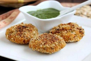 Oats Mung Dal Cutlet
