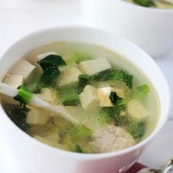 Vegetable Tofu Soup