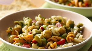 chickpeas  pasta salad