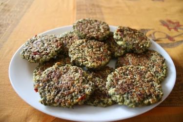 Moong sprouts kebab