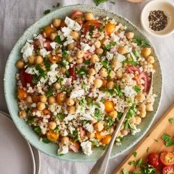 couscous chick pea salad